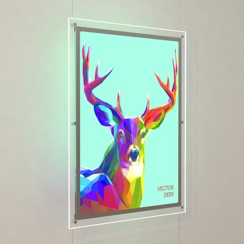 Bevelled Edge LED Light Panel Kits 1