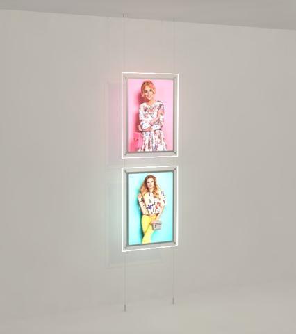 Bevelled Edge LED Light Panel Kits 3