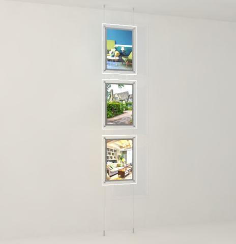 Bevelled Edge LED Light Panel Kits 5