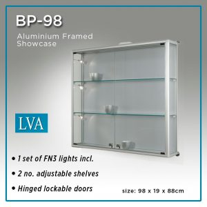 BP 98 Wall Display Cabinet