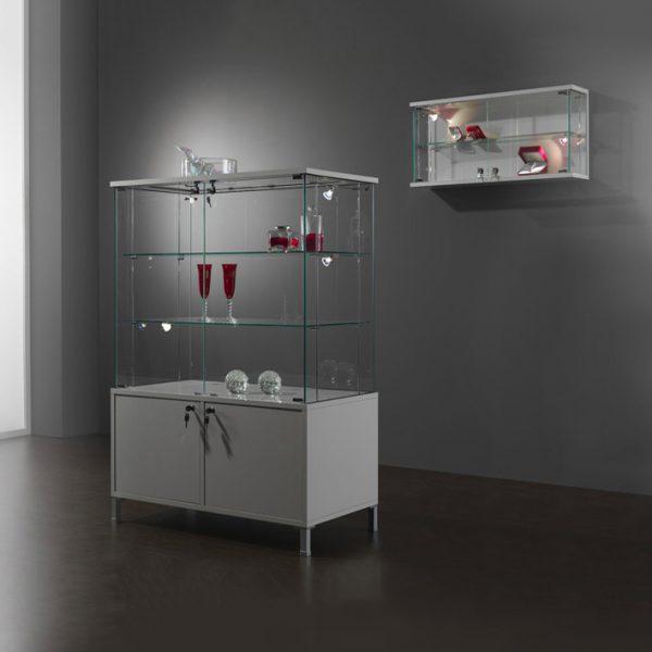 Kubica K92BM2A Low Height Display Storage Glass Cabinet 1