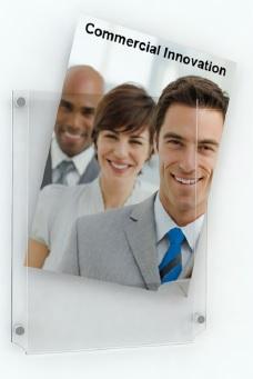 Acrylic Poster Pockets 1