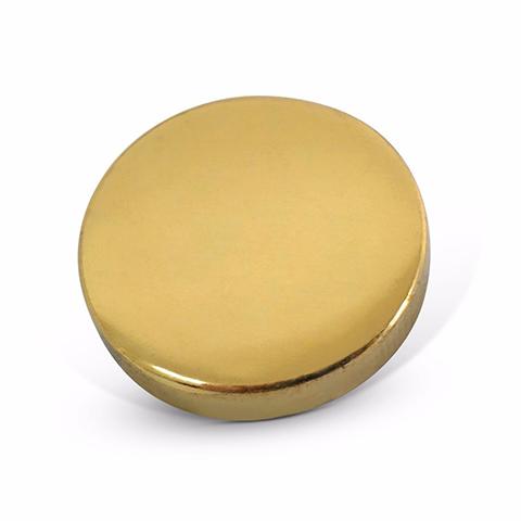 Mirror Screw Caps - Brass