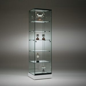S5 Base Nova Trophy frameless glass cabinet..
