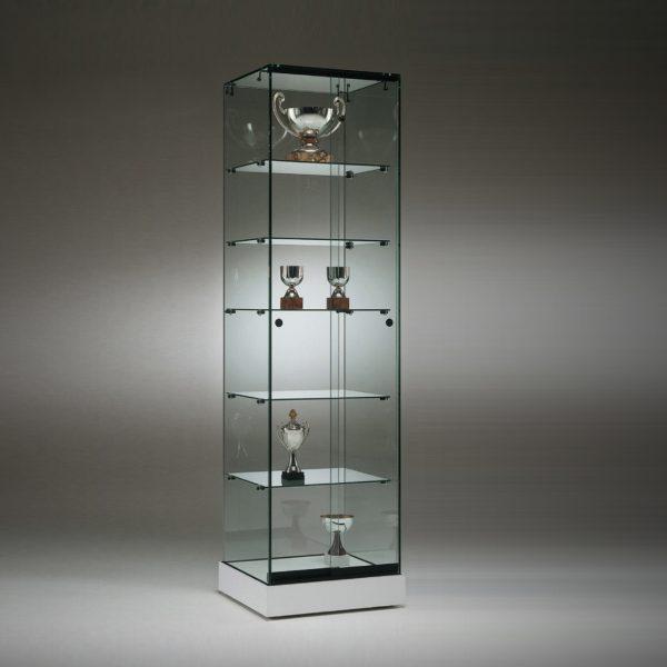 S5 Base Nova Trophy frameless glass cabinet.. 1