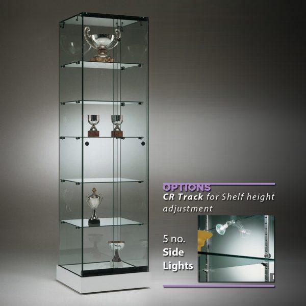 S5 Base Nova Trophy frameless glass cabinet.. 2
