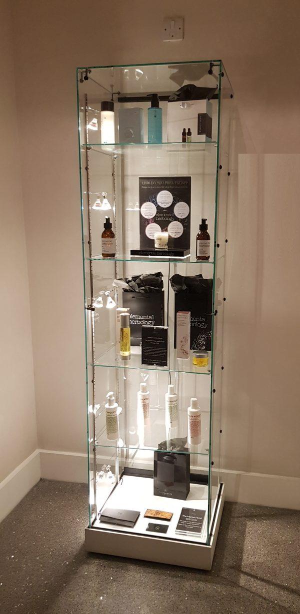 S5 Base Nova Trophy frameless glass cabinet.. 3