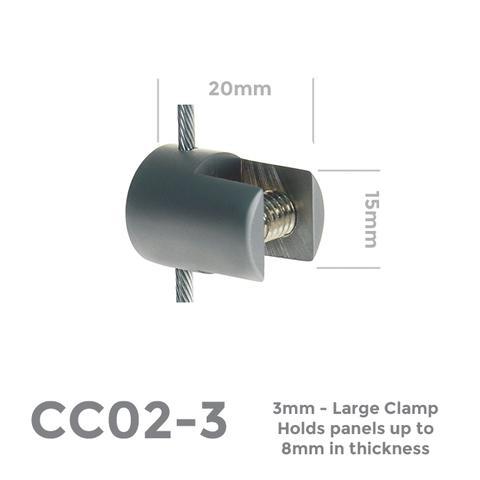 CC02-3 Large Clamp