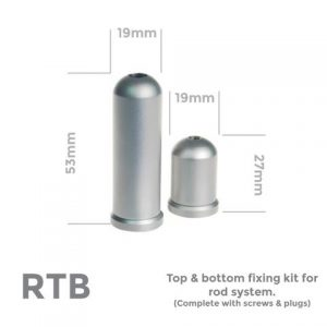 Rod top & bottom – 12mm