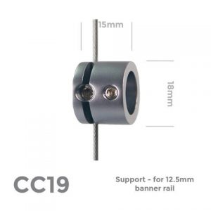Support – for 12.5mm banner rail