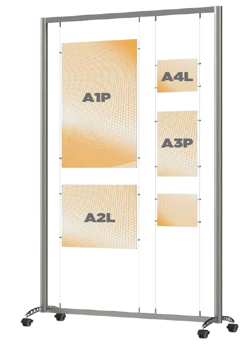 Freestanding Display Options 1